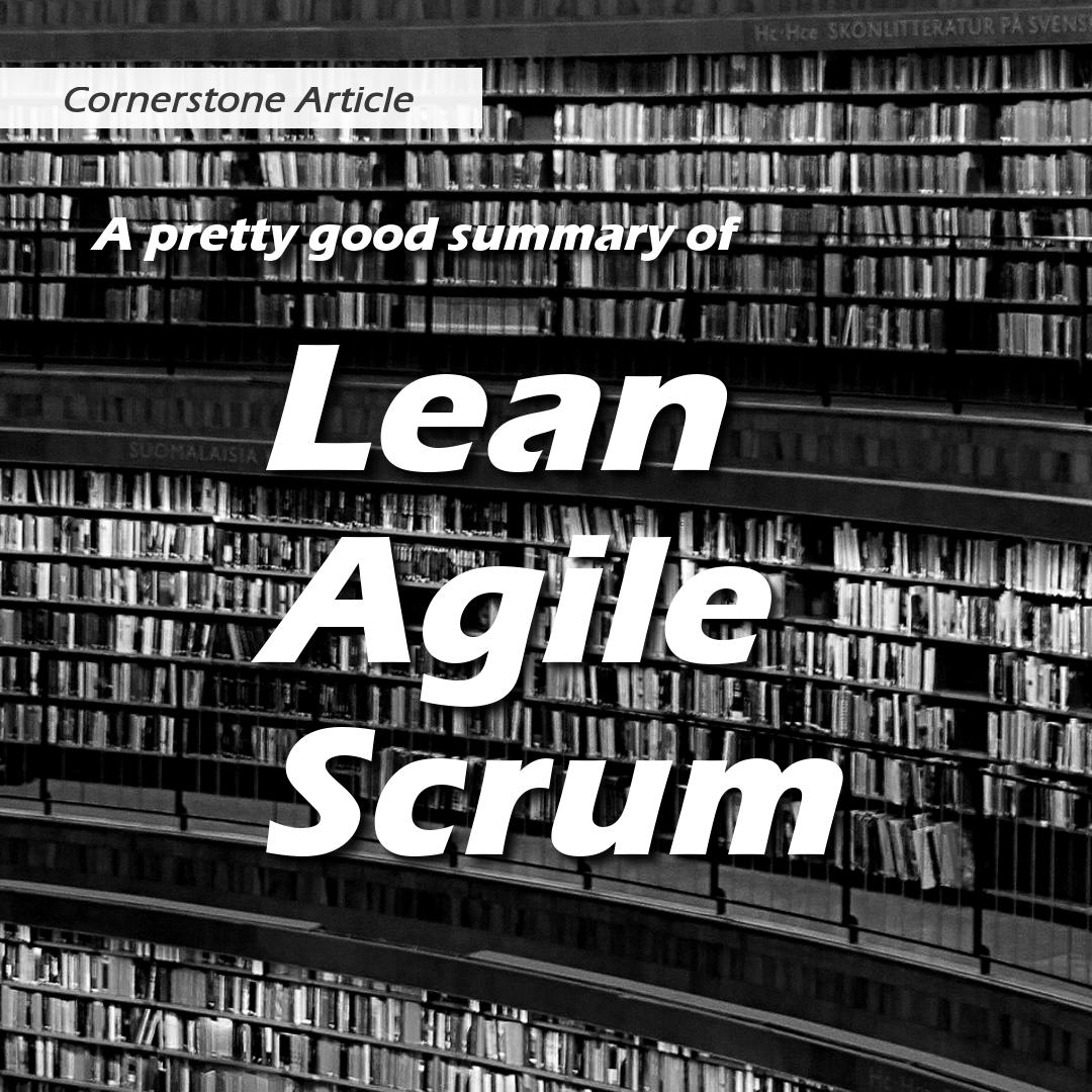 Lean, Agile, Scrum   Lifecycle